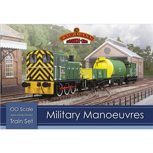 Image of BACHMANN BRANCHLINE HO - Military Manoeuvres Train Set