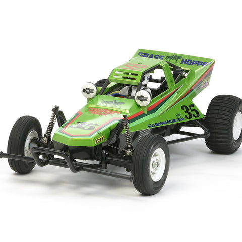 TAMIYA 1/10 The Grasshopper '05 Candy Green RC Kit