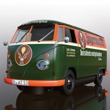 SCALEXTRIC Volkswagen Panel Van T1B - Green