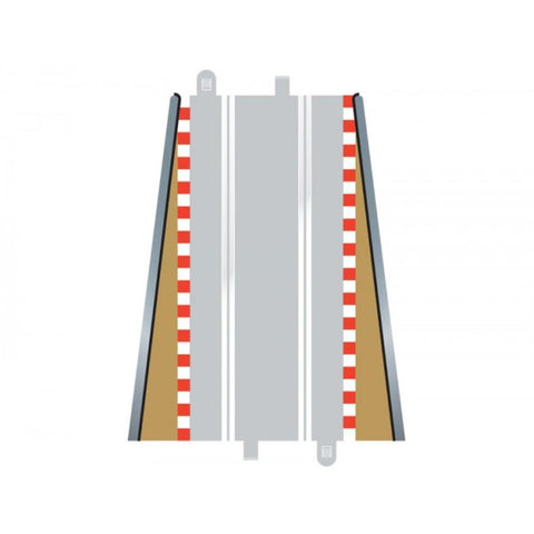 SCALEXTRIC Borders & Barriers Lead-In/Out (FOR C 8025)