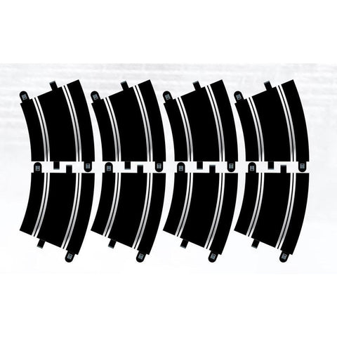 SCALEXTRIC TRACK EXTENSION PACK 6 - 8 X R3 CURVES