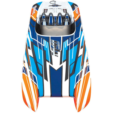 TRAXXAS DCB M41 Widebody Catamaran - Orange