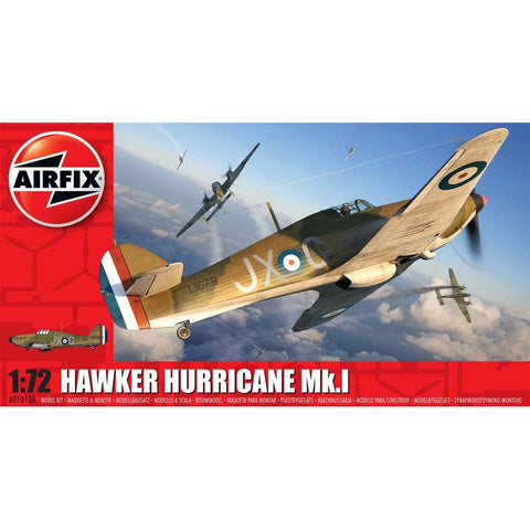 Image of AIRFIX 1/72 Hawker Hurricane MK.I