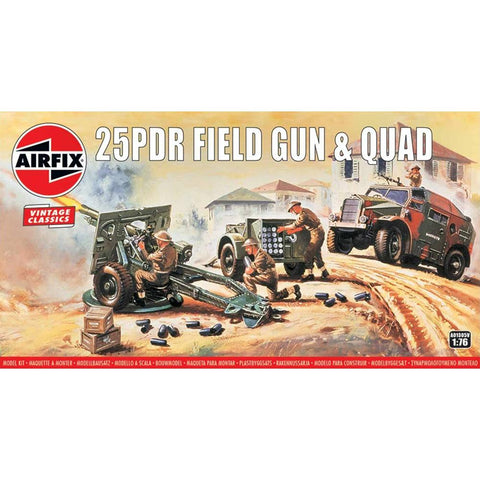 Image of AIRFIX 1/76 25DPR Field Gun
