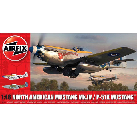 Image of AIRFIX NORTH AMERICAN MUSTANG MK.IV 1:48 (58-05137)