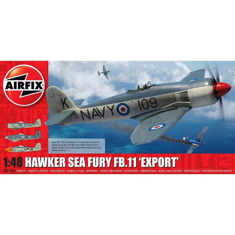 AIRFIX HAWKER SEA FURY FB.II 'EXPORT EDITION' 1:48 (58-0610