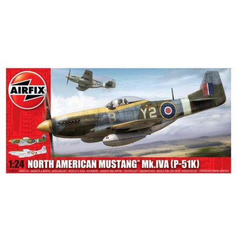 AIRFIX 1/24 North American Mustang Mk.IVA P-51K