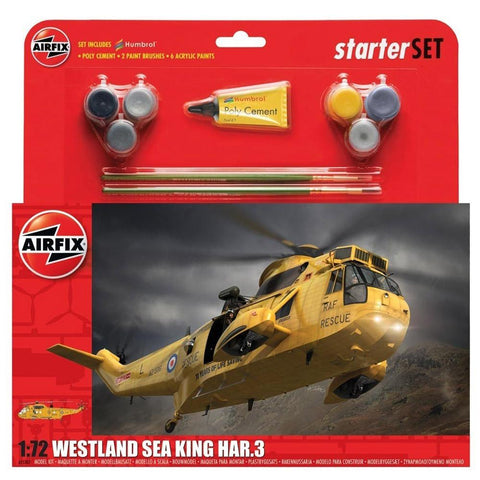 AIRFIX 1/72 Westland Sea King HAR.3 Large Starter Set