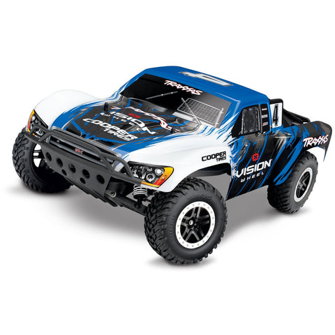 Image of TRAXXAS 1/10 SLASH RTR w/Radio - Vision
