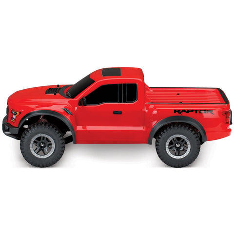 Image of TRAXXAS 1/10 Ford F-150 RAPTOR - Red
