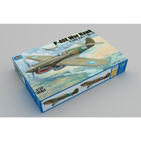 TRUMPETER 1/32 P-40E War Hawk Plastic Model Kit