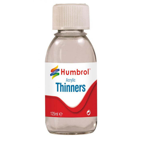 HUMBROL ACRYLIC ARCYLIC THINNER 125ML