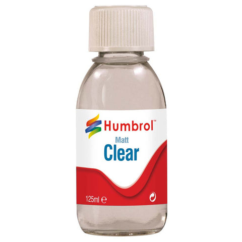 HUMBROL 7434 - Clear - Matt - 125ml