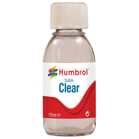 HUMBROL 7435 - Clear - Satin - 125ml