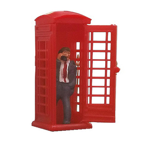 PECO OO/HO Telephone Box With Caller