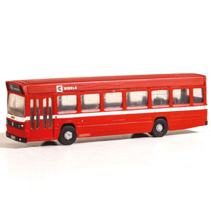 MODEL SCENE OO/HO Leyland National Single Decker Bus Red Va