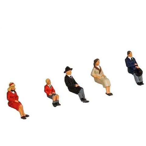 PECO MODEL SCENE SEATED PEOPLE (5301)