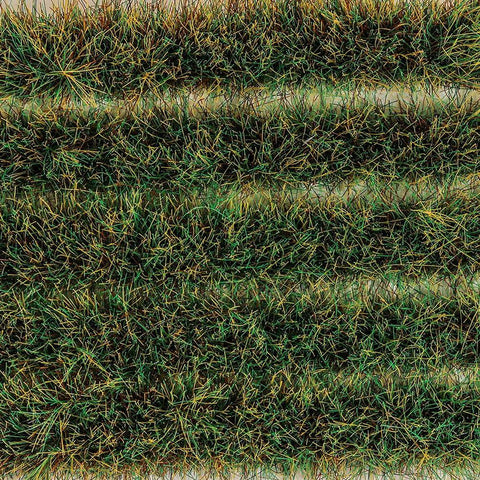 PECO Water Meadow Grass Tuft Strips 10mm High Slf Adhesive