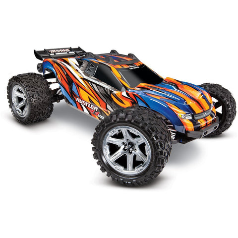 TRAXXAS 1/10 Rustler 4x4 VXL 1/10 - Orange