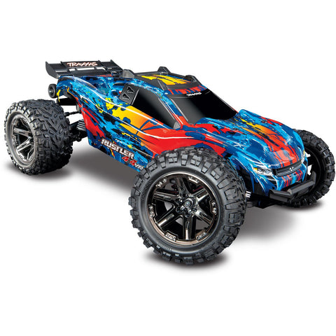 Image of TRAXXAS 1/10 Rustler 4X4 VXL - Red