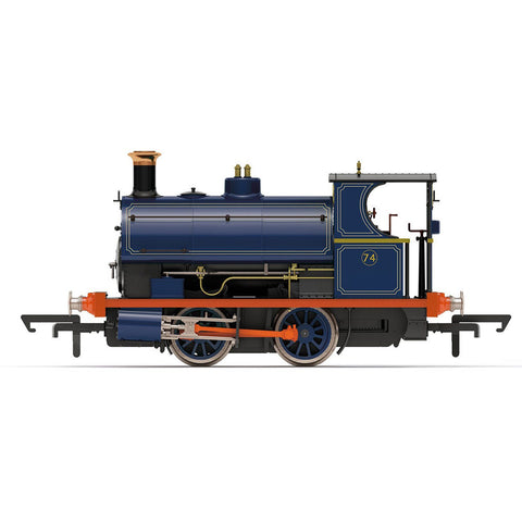 HORNBY OO PORT OF LONDON AUTHORITY, PECKETT W4 CLASS, 0-4-0