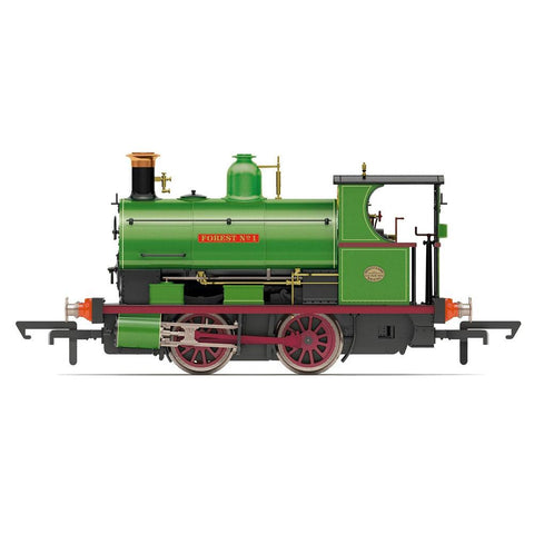 HORNBY OO CHARITY COLLIERY, PECKETT W4 CLASS, 0-4-0ST, 'FOR