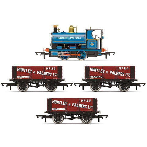 HORNBY OO Huntley & Palmers Peckett W4 Works Freight Pack