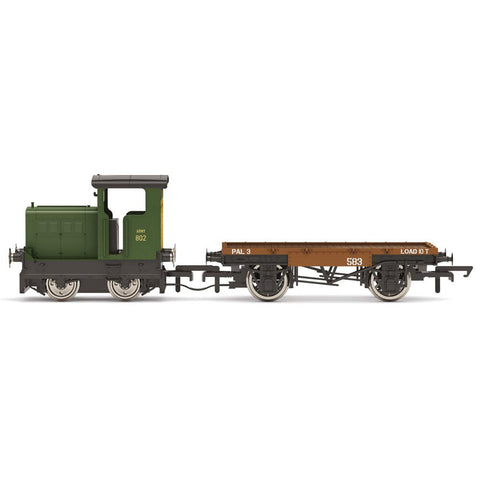 HORNBY OO WAR DEPARTMENT, R&H 48DS, 0-4-0, 'ARMY 802' - ERA