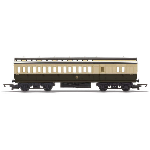 HORNBY OO GWR, CLERESTORY BRAKE COACH - ERA 2 (69-R4914)