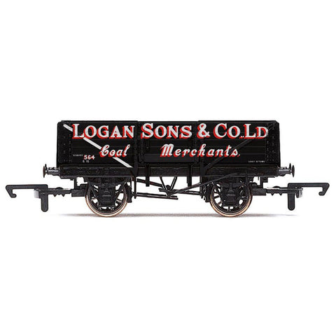 Image of HORNBY LOGAN & SONS 5 PLANK WAGON