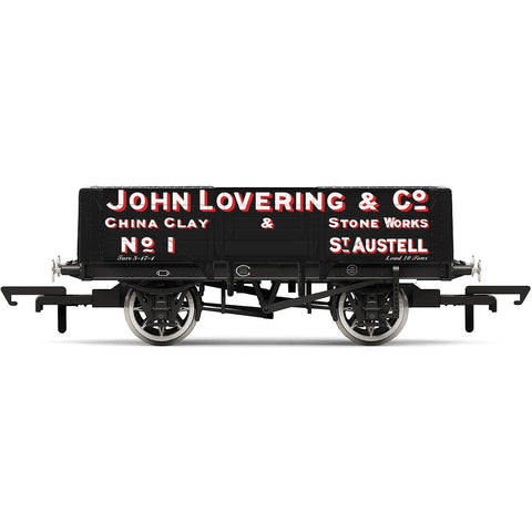 HORNBY 5 PLANK WAGON, 'JOHN LOVERING & CO.' NO.1 - ERA 2 (6