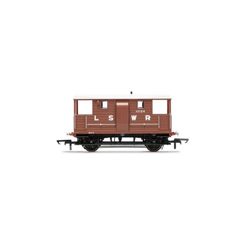 Image of HORNBY LSWR, 20T 'New Van' Goods Brake Van, 10124 - Era 2