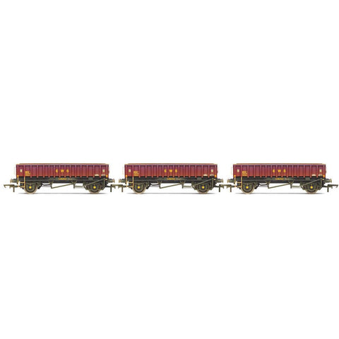 HORNBY MHA 'COALFISH' BALLAST WAGON, THREE PACK, EWS, ERA 9