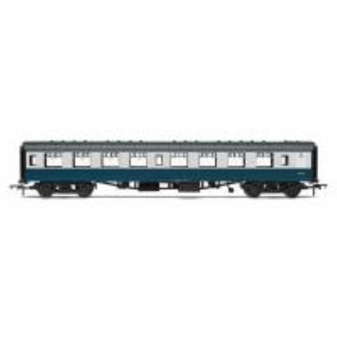HORNBY OO BR Mk1 Coach Tourist Second Open 'W5025', Blue &