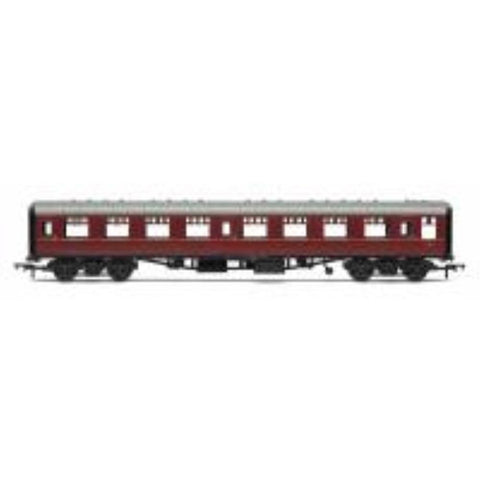 HORNBY OO BR Mk1 Coach Second Open 'E4811', Maroon (no cres