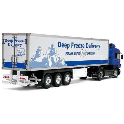Image of TAMIYA 1/14 3-Axle Reefer Semi-Trailer
