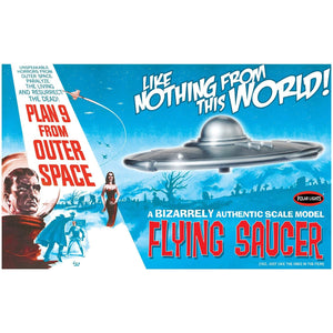 POLAR LIGHTS 1/25 Plan 9 From Outer Space Flying Saucer Kit