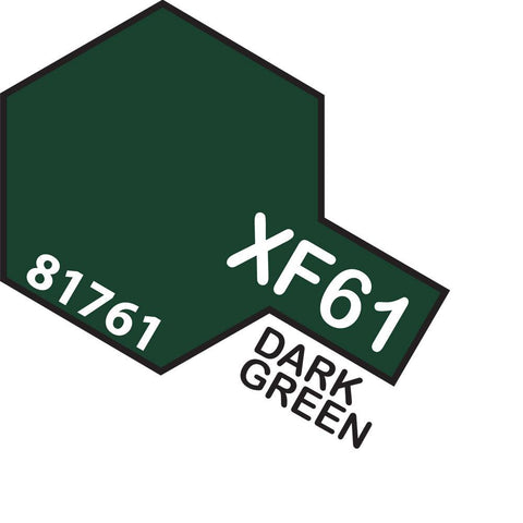 Image of TAMIYA Acrylic XF-61 DARK GREEN