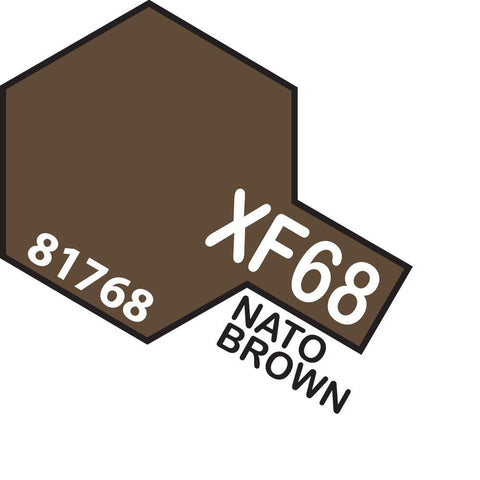 Image of TAMIYA Acrylic XF-68 NATO BROWN
