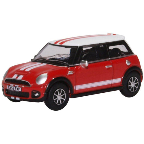 Image of OXFORD 1/76 New Mini Chilli Red/White
