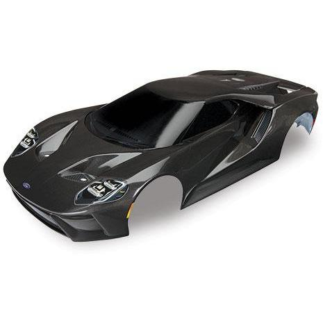 Image of TRAXXAS Body Ford GT, Black (8311X)