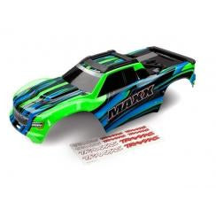 TRAXXAS Maxx Green Body Painted W/ Decals