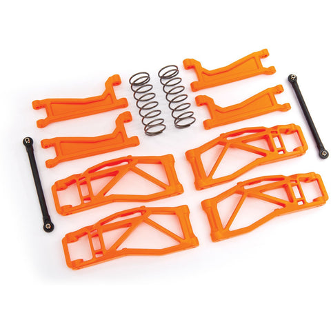 TRAXXAS Suspension Kit Wide Maxx Black Orange (8995T)
