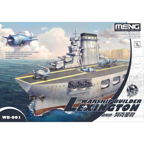 MENG Warship Builder Lexington