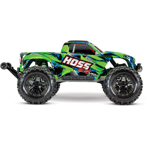 TRAXXAS Hoss 4x4 VXL Monster Truck Green