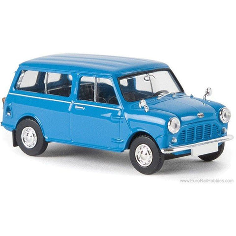 BREKINA AUTOMODELLE Morris Minor Cobalt Blue