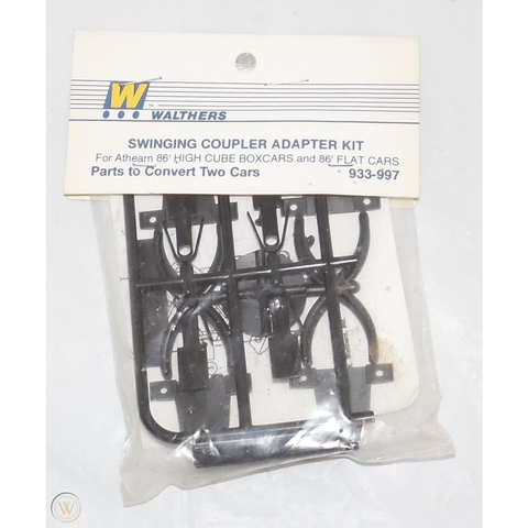 WALTHERS HO Swinging Coupler Adapter Kit