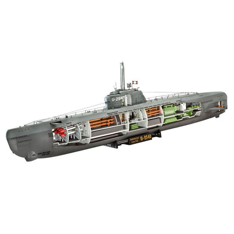 REVELL 1/144 U-Boat Type XXI With Interior