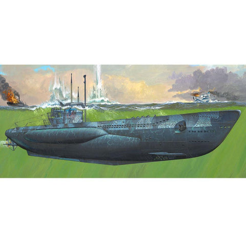 REVELL 1/72 German Submarine Type VII C/41
