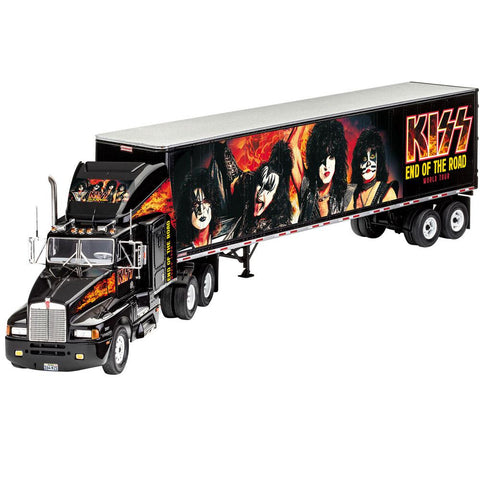 REVELL 1/32 Gift Set KISS Tour Truck (End of the Road Tour)